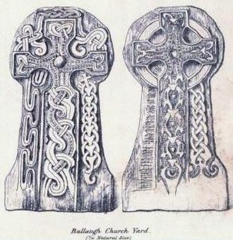 Manx runestones - Br Olsen;189, Ballaug
