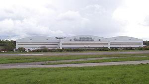 "Terence Patrick O'Sullivan - The Assembly Hall, Filton Aerodrome, known as the ""Brab Hangar"""