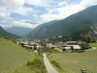 Bramans Part of Val-Cenis in Auvergne-Rhône-Alpes, France