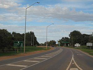 Brand Highway - Image: Brand Hwy 304 S Dongara at Moreton