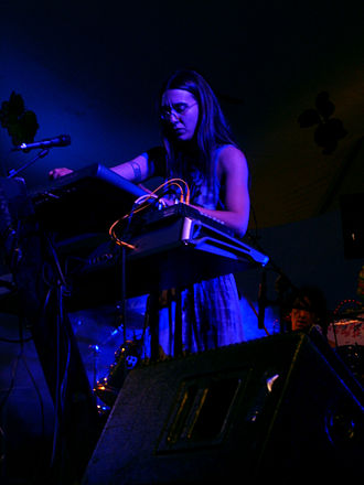 Ozric Tentacles - Brandi Wynne joined the band in 2004.