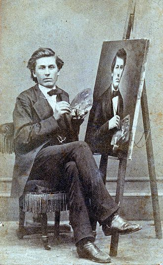 Lloyd Branson - Portrait of Branson (1873) by early Knoxville photographer T.M. Schleier