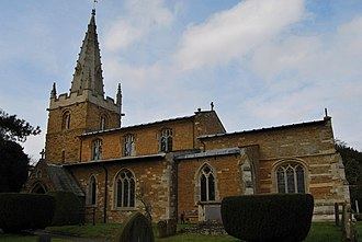 Branston, Leicestershire - Image: Branston Leicestershire St Guthlac Church