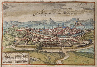 Montpellier - Montpellier in the 16th century