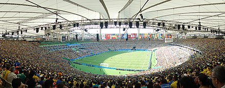 Brazil vs Honduras, men's football tournament at the 2016 Summer Olympics Brazil vs Honduras, men's football tournament at the 2016 Summer Olympics, Maracana Stadium, Rio de Janeiro, Brazil (2).jpg