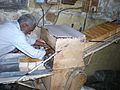 Bread Cutter at Yazdani Bakery 2.JPG