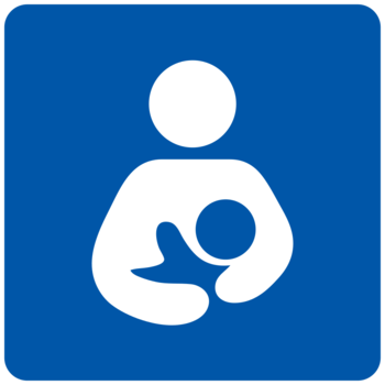 Breastfeeding symbol
