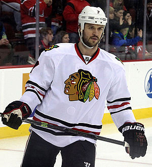 Brent Seabrook - Seabrook with the Chicago Blackhawks in December 2014