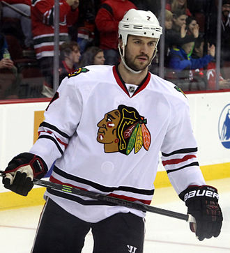 Brent Seabrook - Seabrook with the Chicago Blackhawks in December 2014.