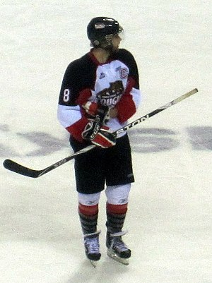 Brett Connolly - Connolly with the Prince George Cougars in November 2010
