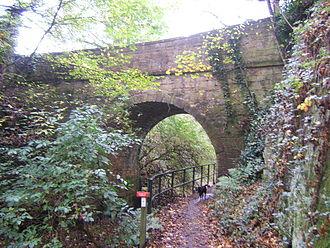 Barnsley Canal - Looking south near Walton