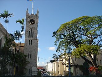 Bridgetown - View from National Heroes Square, Bridgetown, Barbados, April 2007