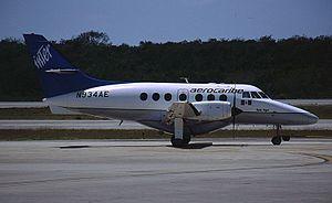 Aerocaribe - British Aerospace BAe-3112 Jetstream 31 in Cancún International Airport