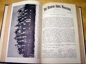 British Chess Magazine - British Chess Magazine 1923