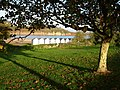 Broadsands beach, Beach huts and long shadows - geograph.org.uk - 376033.jpg