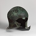 Bronze helmet of Corinthian type MET DP119913.jpg