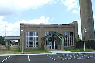 Godbold Transportation Center - Image: Brookhaven MS new 1