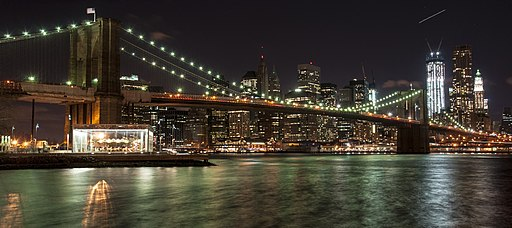Brooklyn Bridge at Night (13303537933)
