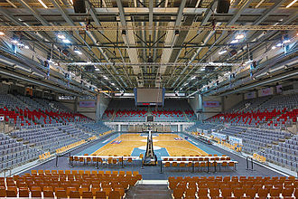 Brose Bamberg - Brose Arena, which has been the regular home arena of the club, since 2001.