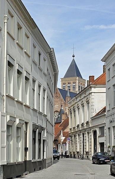 Bruges (Belgium): Moerstraat