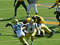 Bruins on offense at UCLA at Cal 2010-10-09 7.JPG
