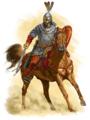 Bruno degli Slavi di Ilmen a cavallo.png