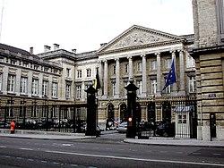 Imagen del Parlamento en Bruselas