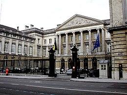 Εικόνα του Κοινοβουλίου στις Βρυξέλλες