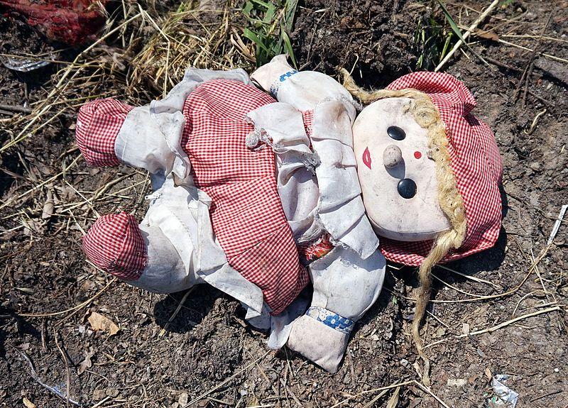 File:Bucharest - abandoned toy.jpg