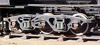 South African type MX tender - Buckeye bogie