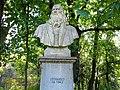 Bucuresti, Romania, Parcul Herastrau, (Statuia lui Leonardo da Vinci); B-II-a-A-18802 (2).JPG