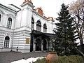 Bucuresti, Romania. Palatul Sutu. Pom de Craciun. Dec. 2018.jpg