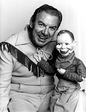 Howdy Doody - Buffalo Bob Smith and Howdy Doody in 1972