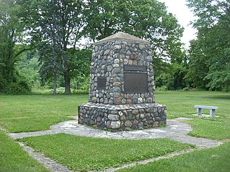 Battle of Buffington Island - The battlefield monument