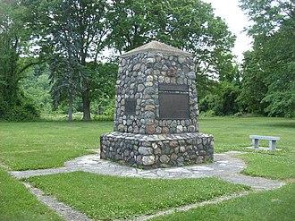 Battle of Buffington Island - The battlefield monument
