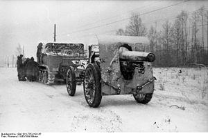 Canon de 155 L Modele 1917 Schneider