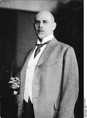 Walther Rathenau - Walther Rathenau in 1921