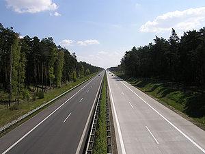 Bundesautobahn 15 - A 15 near Kolkwitz
