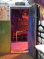 Bunkr Parukářka, klub, záchody, dveře.jpg