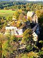 Burg Pottenstein von der Hohen Warte aus gesehen.JPG