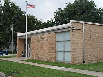 Burlingame, Kansas - U.S. post office in Burlingame (2009)