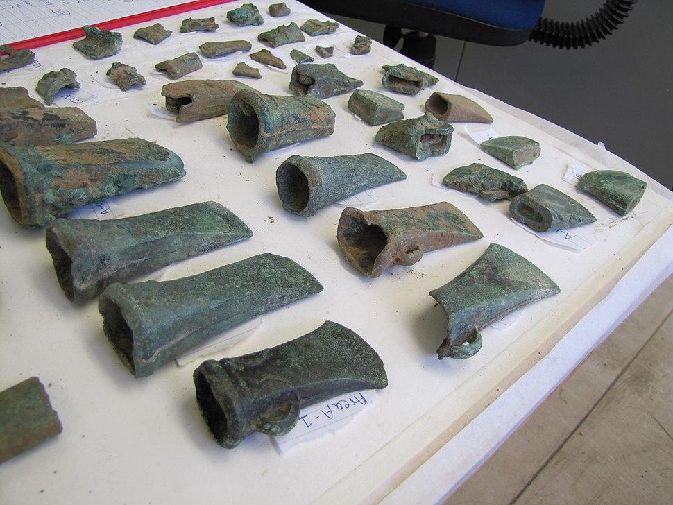 Burnham Hoard bronze axes