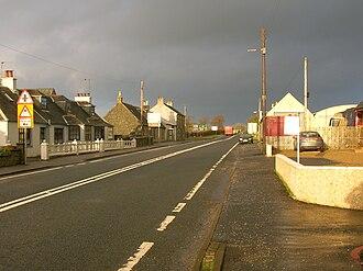 Burnhouse - A view looking towards Lugton