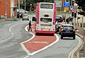Bus lane, Oxford Street, Belfast (2) - geograph.org.uk - 3068560.jpg