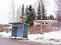Bus stop on Matinmäentie.jpg