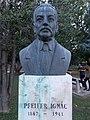 Bust of Ignac Pfeifer by Sandor Mikus, 2016 Ujbuda.jpg