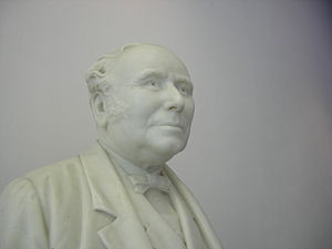 Robert Gordon University - Bust of John Gray, whose philanthropy founded Gray's School of Art