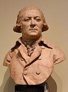 Бюст неизвестного мужчины работы Пьера Мерара, 1786 г., Франция
