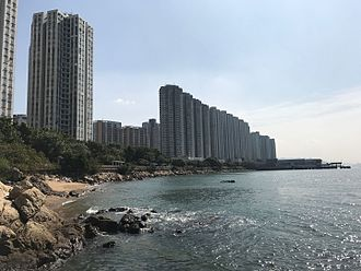 Tuen Mun - Butterfly Bay Park is the largest sea side park in NT.