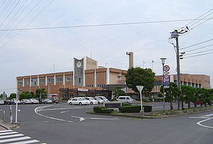 Buzen, Fukuoka - Buzen city hall